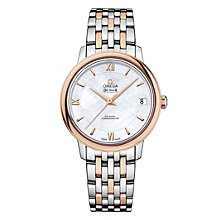 Omega De Ville Prestige ladies' two colour bracelet watch - Product number 1954539