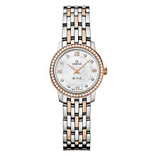 Omega De Ville Prestige Quartz ladies' bracelet watch - Product number 1954555