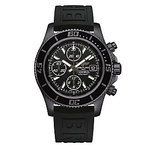 Breitling Superocean Chronograph II men's black strap watch - Product number 1954601