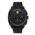 Ferrari men's chronograph black rubber strap watch - Product number 1956027