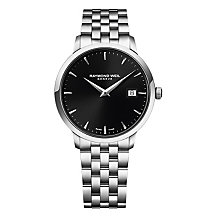 Raymond Weil Toccata men's black dial bracelet watch - Product number 1957686