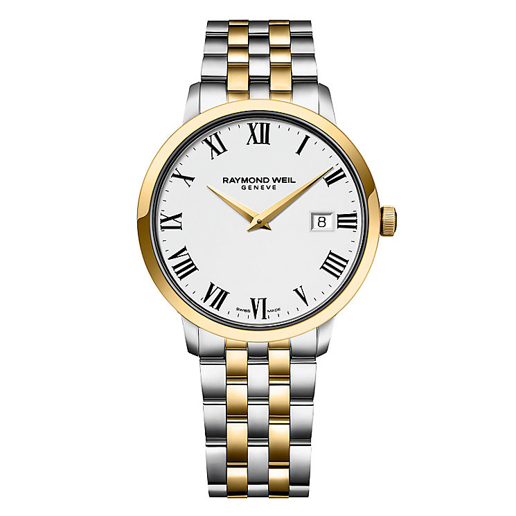 Raymond Weil Toccata two colour bracelet watch - Product number 1957694
