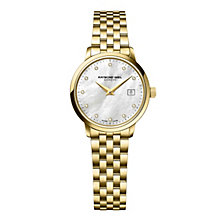 Raymond Weil Toccata women's gold-plated bracelet watch - Product number 1957732