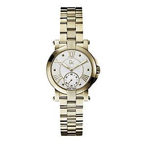Gc Demoiselle ladies' gold-plated bracelet watch - Product number 1957910