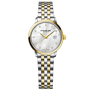 Raymond Weil Toccata ladies' two colour bracelet watch - Product number 1958003