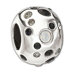 Chamilia Sterling Silver Crystal Metropolis Bead - Product number 1962353