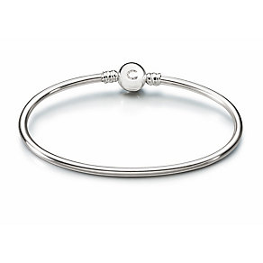 Chamilia Sterling Silver Brilliance Small Bangle - Product number 1962426