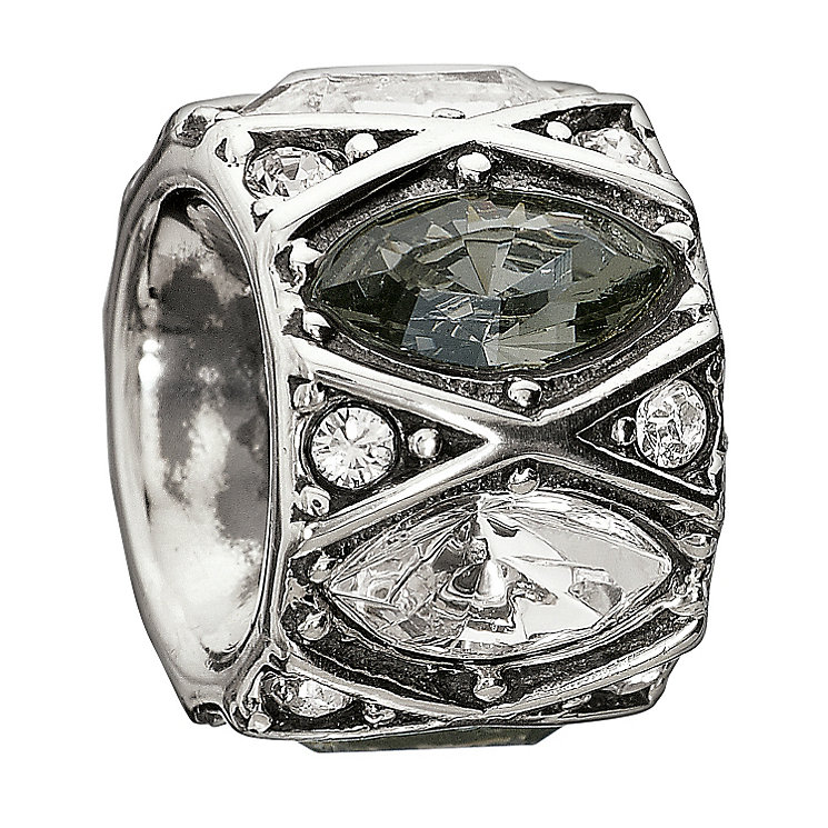 Chamilia Sterling Silver Crystal Shimmering Marquise Bead - Product number 1962515
