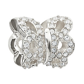 Chamilia Sterling Silver Pure Brilliance Butterfly Bead - Product number 1962531