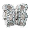 Chamilia Sterling Silver Pure Brilliance Butterfly Bead - Product number 1962558
