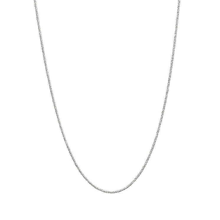 "Chamilia Sterling Silver Adjustable Glam 22"" Chain Necklace - Product number 1962647"