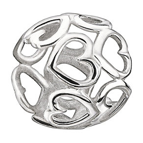Chamilia Sterling Silver Delicate Hearts Bead - Product number 1962779