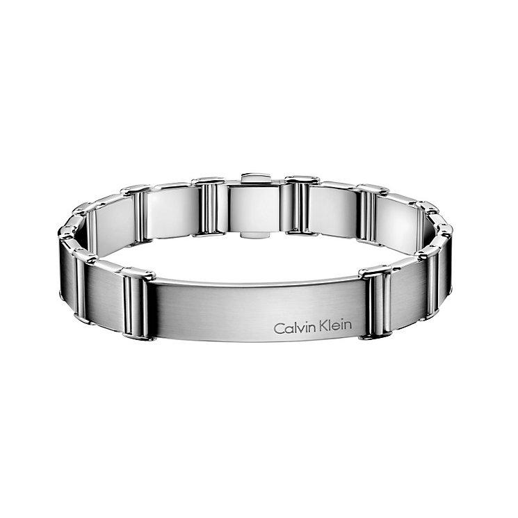 Calvin Klein men's stainless steel link bracelet - Product number 1963910