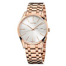 Calvin Klein Time ladies' rose gold-plated bracelet watch - Product number 1964038