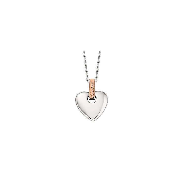 Welsh Gold Heart Necklace