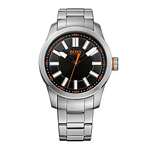 Hugo Boss Orange Men's Stainless Steel Quartz Bracelet Watch - Product number 1973096