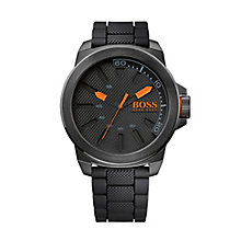 Hugo Boss Orange Men's Black & Orange Quartz Watch - Product number 1973541