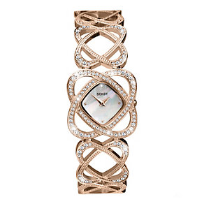 Seksy Ladies' Intricate Rose Gold Swarovski Elements Watch - Product number 1973584