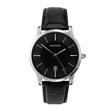 Sekonda Men's Black Dial Watch With Black Strap - Product number 1984519