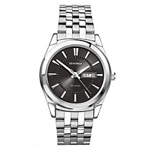 Sekonda Men's Black Dial And Stainless Steel Bracelet Watch - Product number 1984527