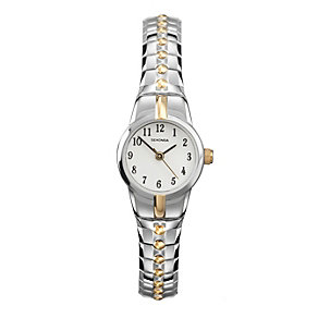 Sekonda Ladies' Two Tone Stainless Steel Expander Watch - Product number 1984535