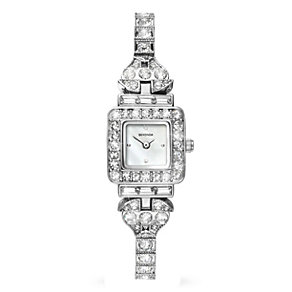 Sekonda Ladies' Stone Set Watch With Square Dial - Product number 1984543
