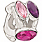 Chamilia With Swarovski Crystal Pink & Purple Crystal Bead - Product number 1985981