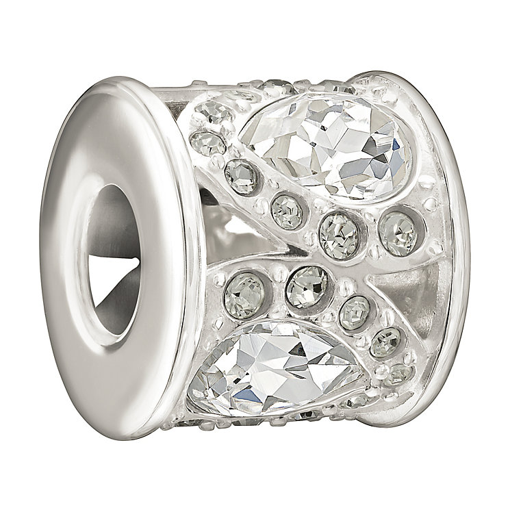 Chamilia Sterling Silver Swarovski Crystal Petals Bead - Product number 1986023
