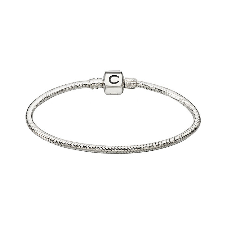 "Chamilia Sterling Silver 23.1cm or 9.1"" Snap Bracelet - Product number 1986031"