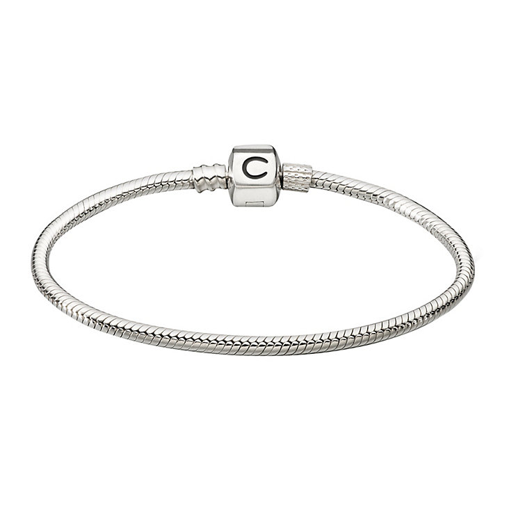 "Chamilia Sterling Silver 24.1CM or 9.5"" Snap Bracelet - Product number 1986058"