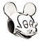 Chamilia Silver Disney Mickey Mouse Bead - Product number 1986171