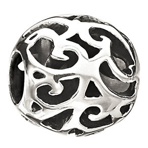 Chamilia Sterling Silver Hollow Filigree Bead - Product number 1986260