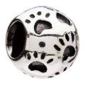 Chamilia Sterling Silver Paws Bead - Product number 1986287