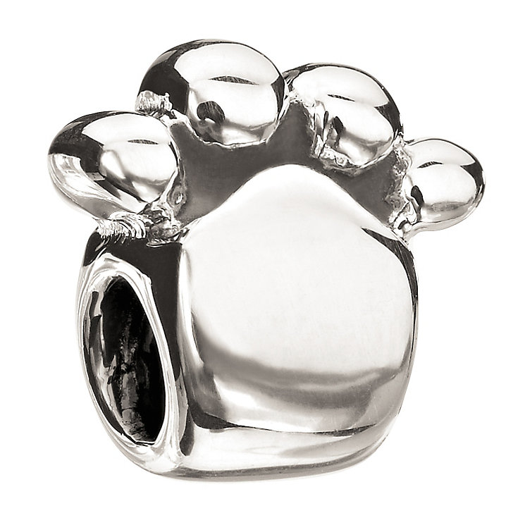Chamilia Sterling Silver Paw Print Bead - Product number 1986325