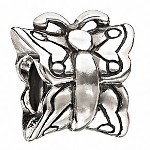 Chamilia - sterling silver butterfly bead - Product number 1986341