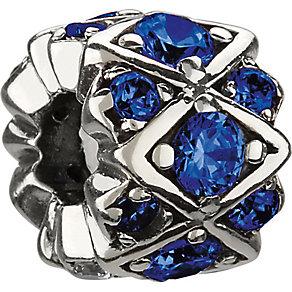 Chamilia Silver Blue Swarovski Crystal Bead - Product number 1986627