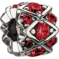 Chamilia - Sterling Silver & Red Swarovski Crystal Bead - Product number 1986635