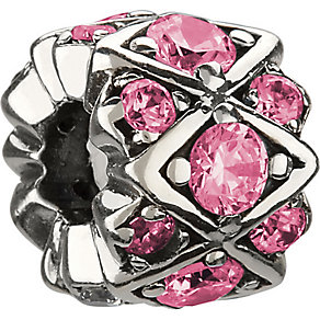 Chamilia Silver Pink Swarovski Crystal Bead - Product number 1986651