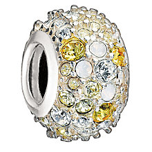 Chamilia - Sterling Silver & Yellow Swarovski Crystal Bead - Product number 1986678