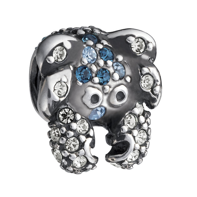 Chamilia Sterling Silver Blue Swarovski Crystal Crab Bead - Product number 1986759