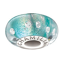 Chamilia - Radiance Murano Glass & Silver Teal Shimmer Bead - Product number 1986775