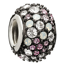 Chamilia Sterling Silver Pink Swarovski Crystal Bead - Product number 1986902