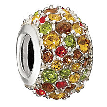 Chamilia Sterling Silver Coloured Crystal Kaleidoscope Bead - Product number 1986945