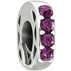 Chamilia Simple Elegance Purple Swarovski Crystal Bead - Product number 1987178
