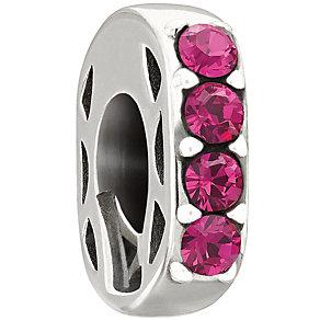 Chamilia Simple Elegance Pink Swarovski Crystal Bead - Product number 1987186