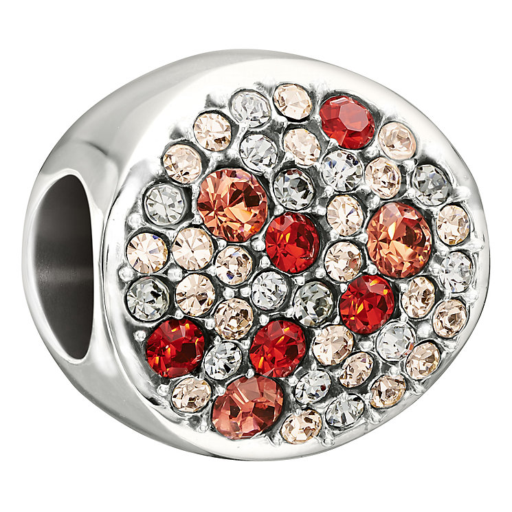 Chamilia Sterling Silver Red Swarovski Crystal Dazzle Bead - Product number 1987283