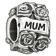 Chamilia Sterling Silver 'Mum's Garden' Bead - Product number 1987291
