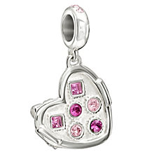 Chamilia Sterling Silver Stone Set Box Of Chocolates Bead - Product number 1987313