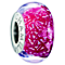 Chamilia Silver Red Dichroic Murano Glass Confetti Bead - Product number 1987631
