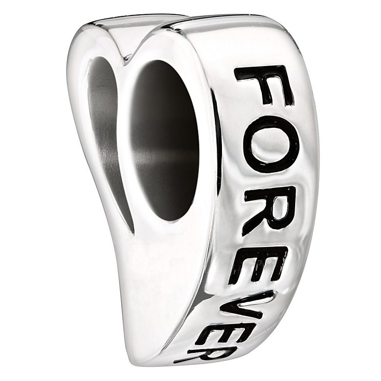 Chamilia Sterling Silver Swarovski Crystal 'Forever' Bead - Product number 1987682